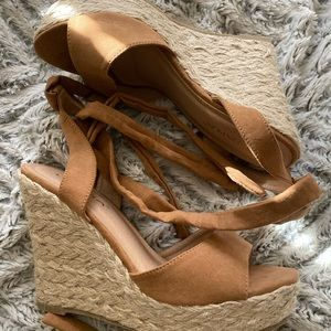 Forever 21 Heeled Wedges NWOT